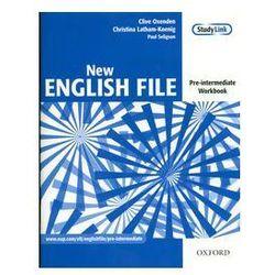 English File New Pre-Intermediate Workbook without key+ CD (opr. kartonowa)