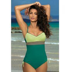4a8c21435af3df Jednoczęściowy strój kąpielowy Kostium Kąpielowy Model Whitney  Balsamo-Germoguo-Fango M-253 Green