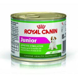 Royal Canin Wyprawka Mini Junior 800g + 4 x puszka Mini Junior 195g