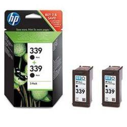 Tusz HP C9504EE nr 339 (2x21ml) zestaw dwupak czarny 2szt.
