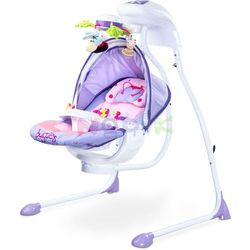 Huśtawka niemowlęca Bugies Caretero (fioletowa)