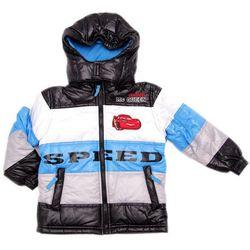 WYPRZEDAŻ - Disney Cars ocieplana kurtka zimowa dzieci - Speed Niebieski