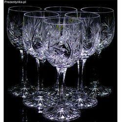 Kieliszki Kryształowe na wino Młynek