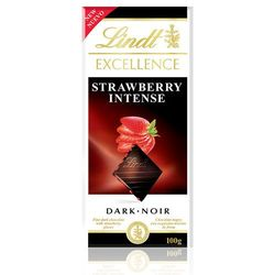 Czekolada Lindt Excellence Starwberry 100g