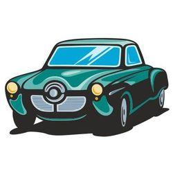 Naklejka kolorowa samochód 110