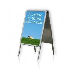 Tablica plakatowa na stojaku typu A 2x3 A0