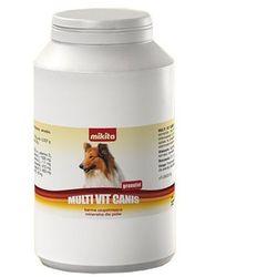 MIKITA Multi Vit Canis - preparat wpływający na prawidłowy rozwój zwierząt granulat 500g