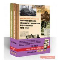 Pakiet: Samochody osobowe i osobowo-terenowe Wojska Polskiego 1918-1950 + Samochody pancerne (opr. twarda)