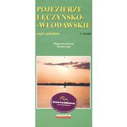 Pojezierze Łęczyńsko-Włodawskie-część zachodnia mapa 1:50 000 Kartpol (opr. miękka)