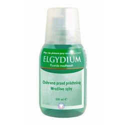 Elgydium Płyn do płukania jamy ustnej z fluorem 200ml