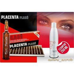 Placenta Placo ampułki + Szampon Placenta 250 ml