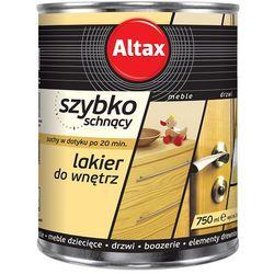 Szybkoschnący lakier do wnętrz Bezbarwny 0,75l połysk Altax