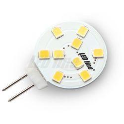 Żarówka LED 9 SMD G4 12V 1,8W biała zimna - biała zimna