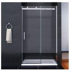 TESSA Drzwi przesuwne 120x190, szkło transparentne powłoka Easy Clean