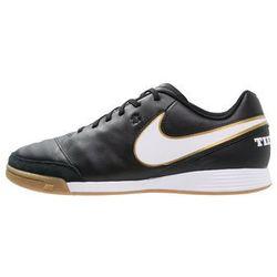 Nike Performance TIEMPO GENIO II IC Halówki black/white/metallic gold