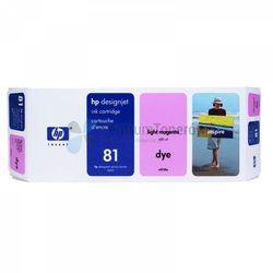 HP oryginalny ink C4935A, No.81, light magenta, 680ml, HP DesignJet 5000, PS, UV, 5500, PS, UV