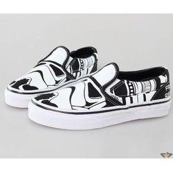buty dziecięce VANS - Classic Slip-On (Star Wars) - Szturmowiec - VVHDDJO