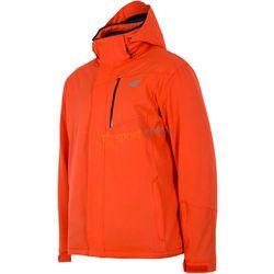 Kurtka narciarska męska KUMN009 4F (pomarańczowa)