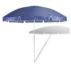Parasol plażowy niebieski (300cm). Zapisz się do naszego Newslettera i odbierz voucher 20 PLN na zakupy w VidaXL!