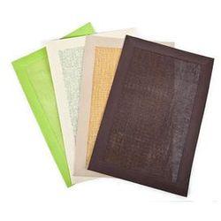 PAPIEROWA Mata stołowa papierowa o wymiarach 30x45cm w kolorze brązowym