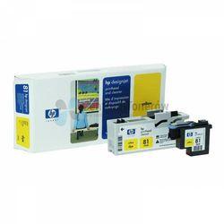 HP oryginalny głowica drukująca C4953A, No.81, yellow, HP DesignJet 5000, PS, UV, 5500, PS, UV