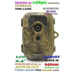 Kamera (Foto-Pułapka) Dzienno-Nocna + Dźwięk + Zapis + Detekcja Ruchu + Ekran LCD itd.