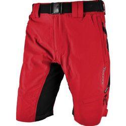 Męskie MTB rowerowe spodnie Silvini Rango MP857 red-black