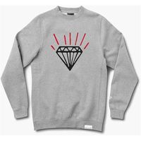 bluza DIAMOND - Gem Crewneck Heather Grey (HTGR) rozmiar: L