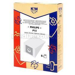 Worki K&M P15 Philips FC 8334 5szt - blisko 700 punktów odbioru w całej Polsce! Szybka dostawa! Atrakcyjne raty! Dostawa w 2h - Warszawa Poznań
