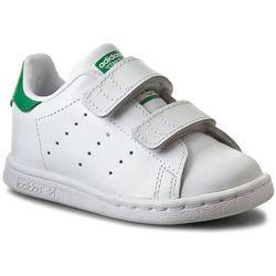 Buty adidas - Stan Smith Cf I M20609 Ftwwht/Ftwwht/Green