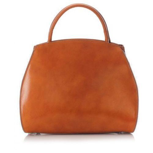 38f035a944225 Designerska włoska Torebka Skórzana Ruda (kolory) - porównaj zanim ...