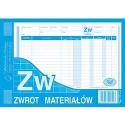Zwrot materiału ZW Michalczyk&Prokop 374-3 - A5 (wielokopia)