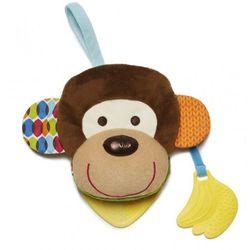 Skip Hop, Bandana Buddies, Małpa, książeczka–pacynka Darmowa dostawa do sklepów SMYK