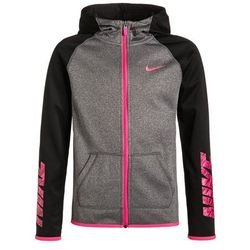 Nike Performance Kurtka sportowa black heather/black/hyper pink