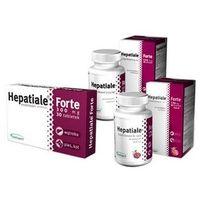 Hepatiale Forte małe psy i kot 30 tabletek