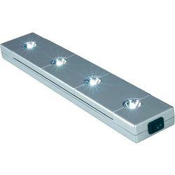 Lampa wpuszczana LED SLV 160331, 0,1W, 20 lm, 6300 K, 4,5 V, Srebrno-szary