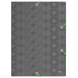 Teczka z gumką Leitz Retrochic A4/15mm, 45150089 - szara