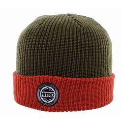 czapka zimowa NITRO - Cuffed Hat Dark Olive Orange (001) rozmiar  OS 8559fda2cb9d