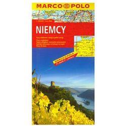 Niemcy mapa drogowa 1:800 000 Marco Polo