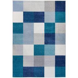 Dywan Cube Komfort 120x170 Niebieski
