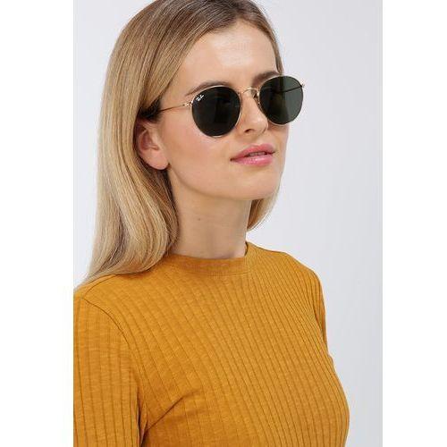 Ray Ban Okulary przeciwsłoneczne ROUND METAL RB3447 001