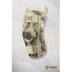 Militarna orteza kolana z szynami bocznymi