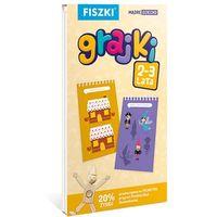 GRAJKI 2-3 lata - 160 zabaw edukacyjnych dla dzieci - Nauka przez zabawę