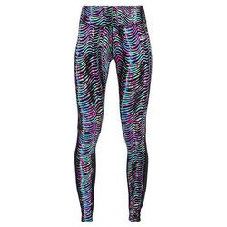 Nike Performance POWER EPIC LUX Legginsy multicolor/light photo blue/reflective silver