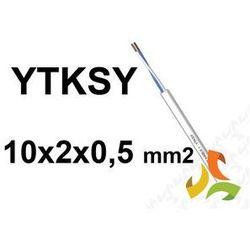 KABEL TELEFONICZNY 10x2x0,5mm2 YTKSY parowany / 100mb