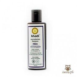 Przeciwłupieżowy szampon z Neem - Khadi