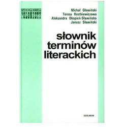 Słownik terminów literackich (opr. twarda)