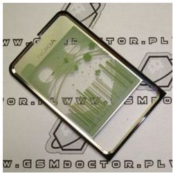 Obudowa Nokia 3250 przednia srebrna