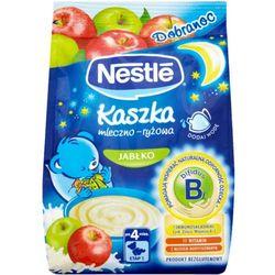 GERBER Dobranoc Kaszka mlecz-ryż.z jabł. po 4-m - - 230 g