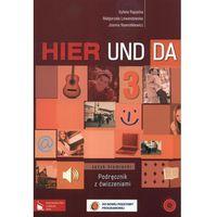 Hier und da 3 Podręcznik z ćwiczeniami z płytą CD (opr. miękka)
